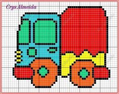 Cross Stitch For Kids, Cross Stitch Baby, Cross Stitch Charts, Cross Stitch Patterns, Cross Stitching, Cross Stitch Embroidery, Beading Patterns, Crochet Patterns, Diy Projects To Try