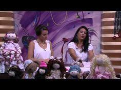 Mulher.com - 31/12/2015 - Boneca de pano - Silvia Torres PT1 - YouTube