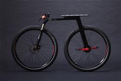 Inner City Bike by J. Ruiter is an interesting concept but does not look like a comfortable ride