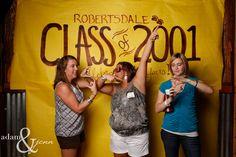 Class Reunion Decorations | Robertsdale High School Class of 2001 Reunion » Adam & Jenn ...