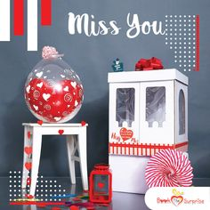 Happiness comes in the form of huge surprise boxes that ooze love, celebration & abundant joy! Present this happiness to someone who means a lot to you! Balloon Box, Love Balloon, Balloon Gift, Balloon Surprise, Surprise Box, Surprise Gifts, Miss You Gifts, Box Delivery, Cute Teddy Bears
