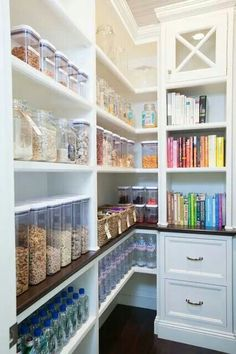 maybe not this OCD but I would love this kind of organization for my pantry one day!!