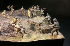 Dioramas and Vignettes: Penal battalion. The Breakthrough, photo #2