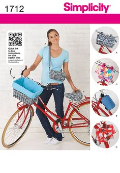 Simplicity Creative Group - Bicycle Bags and Seat Cover