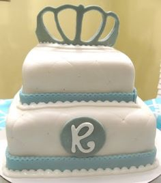 Prince Baby Shower Cake!