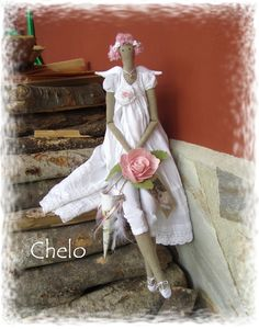 El rincón de Chelo: Tilda para Emma....