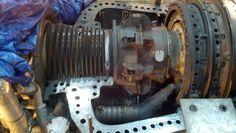 Westinghouse W251B12 Gas Turbine Turbine Engine, Gas Turbine, Jumbo Jet, Jet Engine, Diesel, Aviation, Engineering, Plants, Fighter Jets