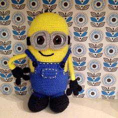 Hæklet Minion /crochet Minion