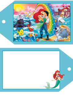 Disney luggage tags- lots of characters