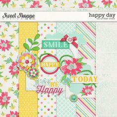 Happy Day mini kit freebie from Amber Shaw