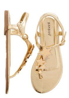 Sandals - Starlight Stroll Sandal (ModCloth)