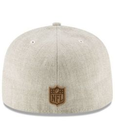 New Era Los Angeles Chargers Heathered Helmet 59FIFTY Fitted Cap -  Tan Beige 7 1 6de03f504