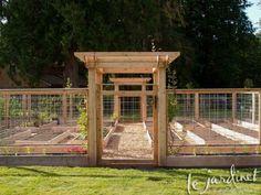Critter proof vegetable garden design - PLANS NOW AVAILABLE ! #flowergardendesign  #vegetablegardeningdesign