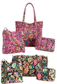 Disney has recently announced the release date for the new Disney Vera Bradley prints is September 21, 2013.  There will be a celebration at the World of Disney store in Downtown Disney and the bags will be available for purchase online at Disneystore.com in October.  The bags will also be available September 23rd in Disneyland.