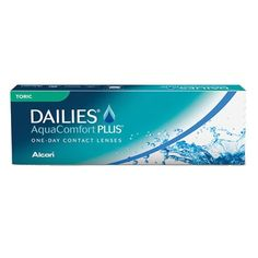 Dailies AquaComfort Plus TORIC :: LENTESDECONTATO.NET