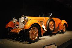 1924 Hispano Suiza Torpedo Tulipwood bodied car