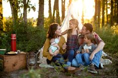 The Recollection Blog: Vintage Camping Family Session