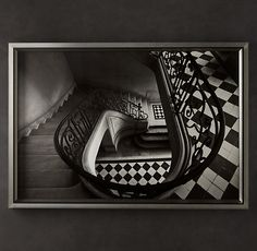William Curtis Rolf: Staircase | ltd edition photography @ Restoration Hardware | 72 x 47.5 | 4500.00