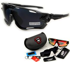 844510fade8 Queshark Brand Tour De France Polarized Cycling Sunglasses Cycling Glasses  Bicycle Bike Goggle 3 Pair Lens