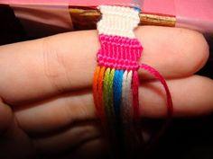 Zigzag Bracelet Tutorial. Friendship Bracelets. Bracelet Patterns. How to make bracelets