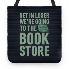 mean girls bookstore tote