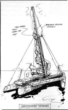 Sailing Kayak, Sailing Ships, Sail Away, Post Apocalyptic, Yachts, Kayaking, Nautical, Tech, Building