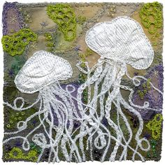 Jellyfish 15 Kirsten Chursinoff is a textile artist, writer and instructor based in Vancouver, Canada
