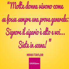La vita non è una prova generale... ;) #quote