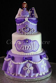 Sofia the First Cake Ideas | Sofia the first birthday cake