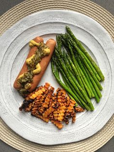 Bun-Less Applegate Turkey Dogs + Trader Joe's Crinkle Cut Butter Nut Squash Fries