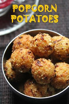 YUMMY TUMMY: Popcorn Potatoes Recipe