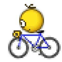 Bicycle Bicycling Bike Play Playing Summer Smiley Smilie Emoticon Animated Animation Gif photo 1sm463bike.gif