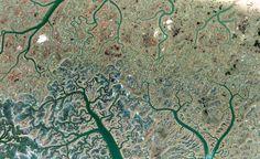 Los mejores patrones fractales de la naturaleza captados por Google Earth | Pijamasurf