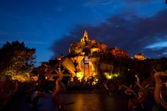 Disney Parks After Dark: Wildest Ride in the Wilderness at Magic Kingdom Park. Uh do they mean Big Thunder Mountain?