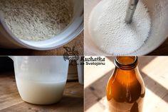 Kuchařka ze Svatojánu: RÝŽOVÉ MLÉKO Healthy Treats, Glass Of Milk, Smoothies, Homemade, Drinks, Cooking, Recipes, Food, Korean Skincare