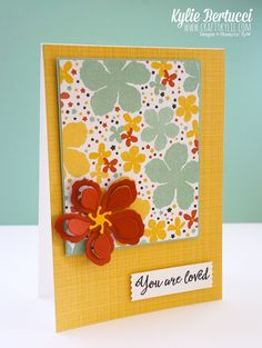 Stampin' Up! Australia: Kylie Bertucci Independent Demonstrator: Occasions Catalogue Sneak Peek - Botanical Gardens