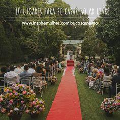 10 lugares lindos e incríveis para se casar no Rio de Janeiro. http://inspiremulher.com.br/2016/03/01/10-lugares-para-se-casar-ao-ar-livre/ #casamento #casamentorustico #dicasdecasamento #casamentoaoarlivre #noivas2016