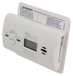 Atwood RV Carbon Monoxide Detector - LCD Digital Display - White Atwood Gas Detectors AT32519