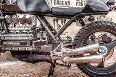 "Ottonero Cafe Racer: LM#33 ""Gaia"" BMW K...fe"