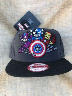 a9d309fd870 New Era 9Fifty Tokidoki Marival Snapback With Iron Man Hawkeye Captain  America  fashion  clothing