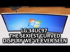"""LG 34UC97 34"""" Curved LCD Monitor - YouTube"""