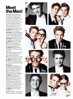 The host, Jake Abel and Max Irons OMG READ THIS MAX DIDN'T KNOW HOW TO DRIVE HAHA