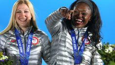 Former #Illini track and field sprinter and shot putter Aja Evans and driver Jamie Gruebel won a bronze medal for the USA Bobsled team at the 2014 Sochi Winter Olympic games. #Sochi2014
