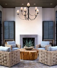 No couch!!! Love the chairs!  McAlpine Tankersley Architecture Invitation » McAlpine Tankersley Architecture