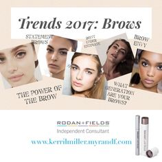 ☀️Spring/Summer Trend 2017: #Brows. It's all about the #natural, #full and #bold brow. Phasing out the overly #groomed, #stenciled on brow going full and #bushy. Brows are important in #framing your #face and a tell, tell sign of your #generation. Are you a victim of #overplucking? Or have sparse brows? Or has time taken it's toll on those #hair follicles? If you answered YES, I have a perfect solution for you...Lash Boost!💕 Yes, our #dermatologist #formula can also be used on your…