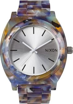 Want? NIXON THE TIME TELLER ACETATE WATCH http://www.swell.com/Womens-Watches/NIXON-THE-TIME-TELLER-ACETATE-WATCH-11?cs=MU#