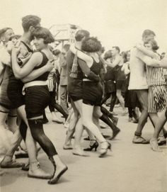 Boardwalk dance, 1920s
