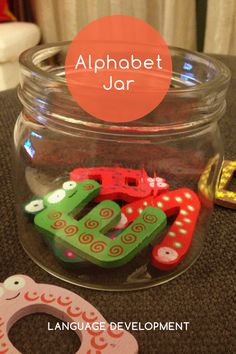 #Knoala Late Preschooler activity 'Alphabet Jar' helps little ones develop Language and Artistic skills. Click for simple instructions