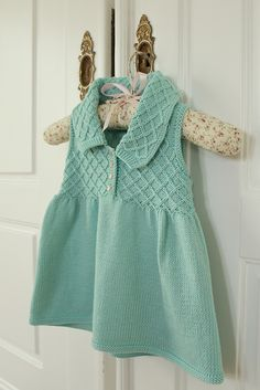 Ravelry: Project Gallery for Sleeveless Smock Dress pattern by Debbie Bliss