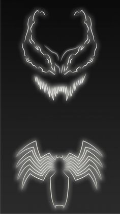 Neon Light Venom 1080 x 1920 Wallpapers available for free download.